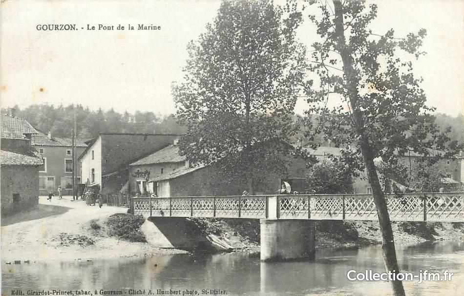Cpa france 52 gourzon le pont de la marine 52 haute for 52 haute marne