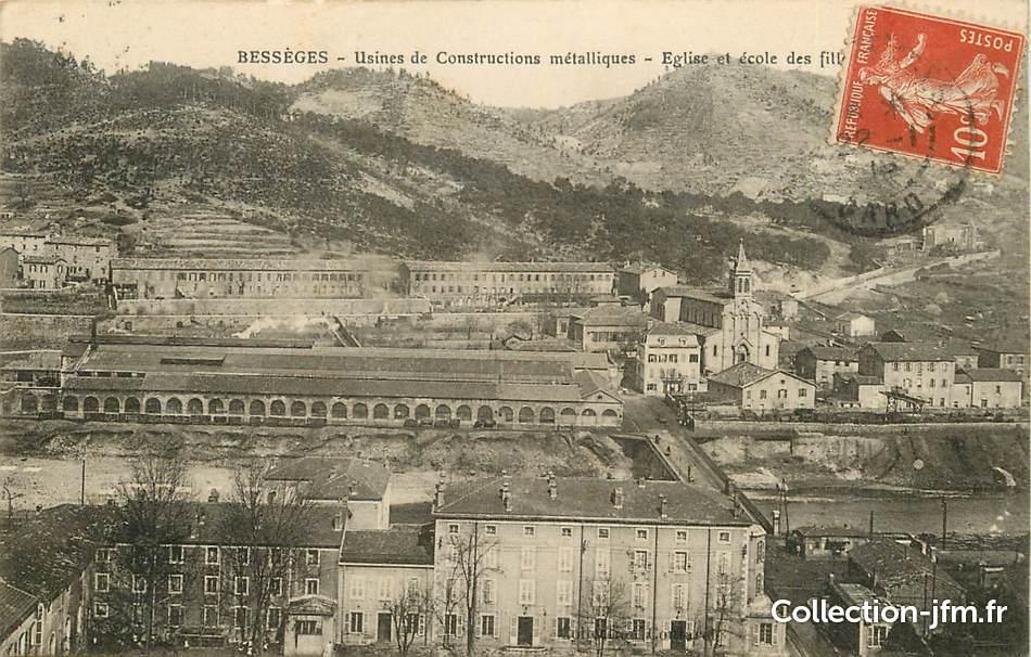 Cpa France 30  U0026quot Bess U00e8ges  Usines De Constructions