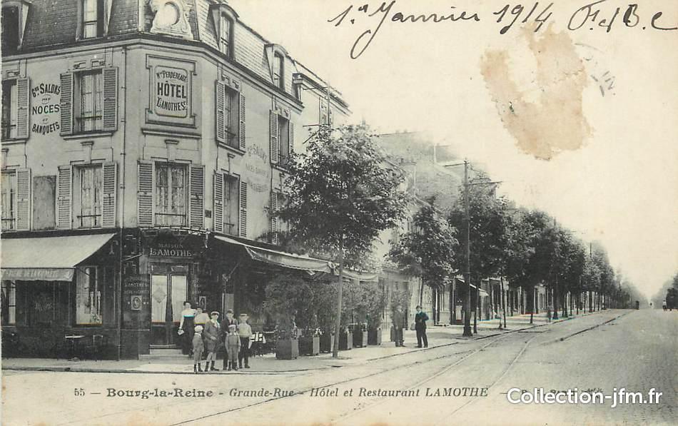 Cpa france 92 bourg la reine grande rue 92 hauts de seine bourg la reine 92 ref - Monoprix bourg la reine ...