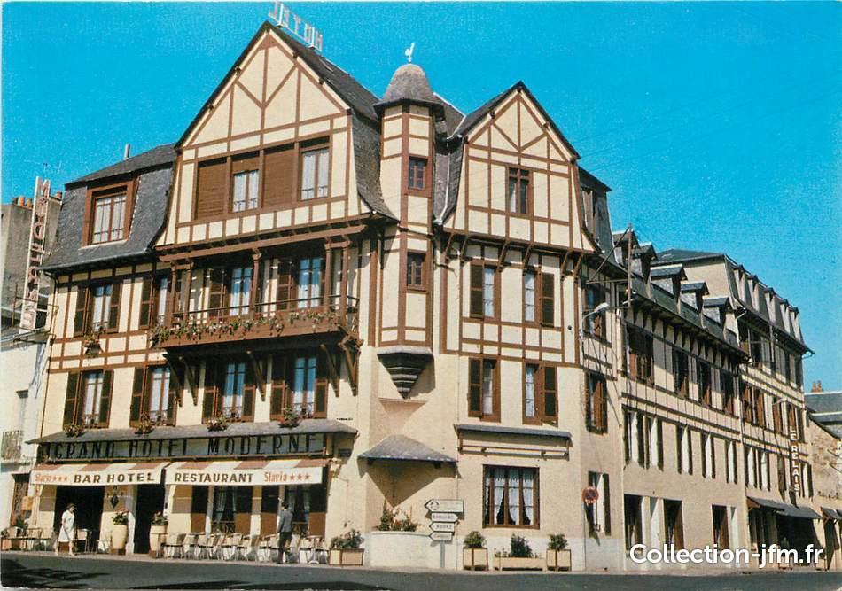 Cpsm france 12 espalion hôtel moderne