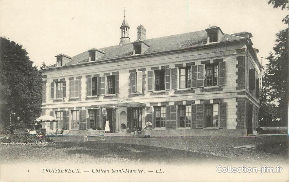 Cpa france 60 troissereux ch teau saint maurice 60 for Liste communes oise
