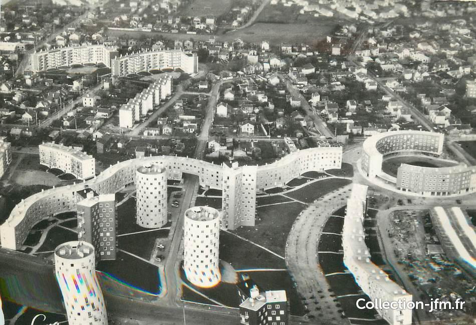 Cpsm france 93 bobigny drancy architecture 93 for Garage bon accueil saint denis
