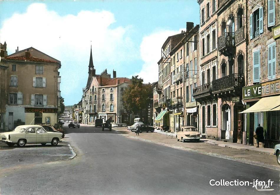 Cpsm france 43 craponne sur arzon faubourg constant for Haute loire 43